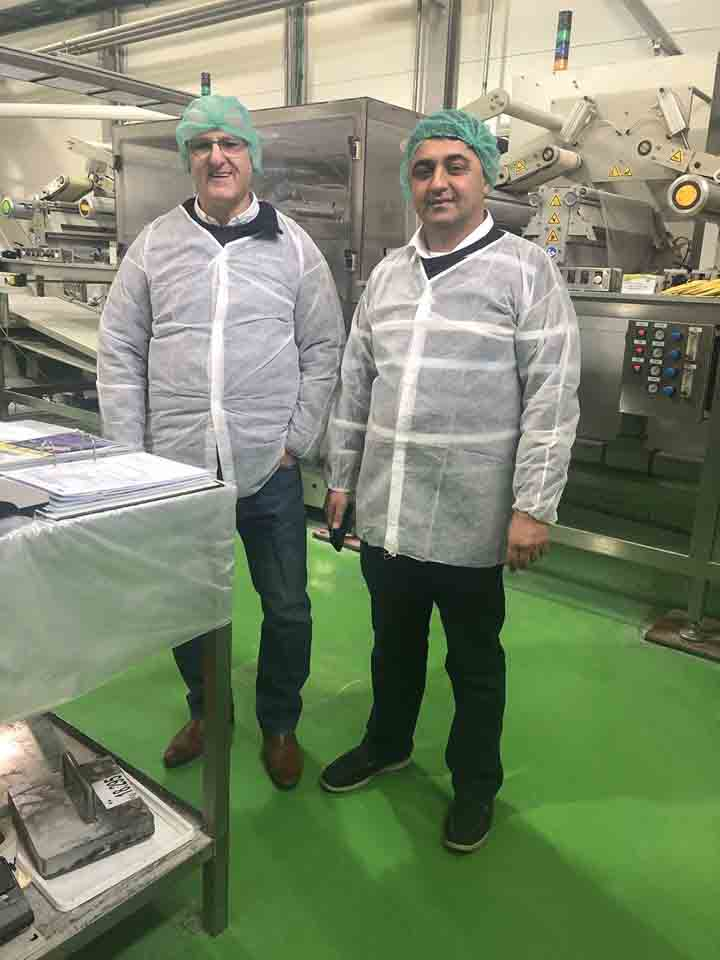 הטמעת תקן AISE במפעל